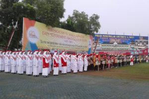 Danrem 081DSJ Pimpin Upacara Pembukaan Jambore Dan  Raimuna Peringatan Seperempat Abad Gontor Putri Ngawi. 4