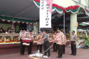 Danrem 081DSJ Pimpin Upacara Pembukaan Jambore Dan  Raimuna Peringatan Seperempat Abad Gontor Putri Ngawi. 7