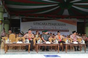 Danrem 081DSJ Pimpin Upacara Pembukaan Jambore Dan  Raimuna Peringatan Seperempat Abad Gontor Putri Ngawi. 9