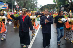 Ethnic Carnival Peringati HUT RI Ke 71 Tahun2016 Di  Trenggalek 4
