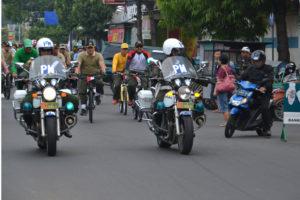 Gowes Bareng TNI, Polri dan Komponen Masyarakat (5)