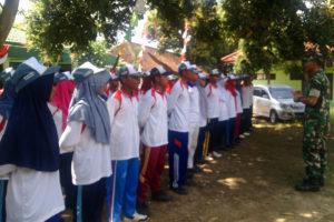 Kasiopsrem 081DSJ Berikan Motivasi Paskibraka Kecamatan  Gemarang Kabupaten  Madiun 2