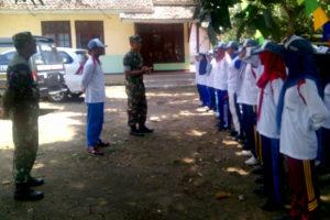 Kasiopsrem 081DSJ Berikan Motivasi Paskibraka Kecamatan  Gemarang Kabupaten  Madiun 3