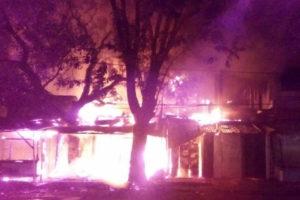 Kios Dan Rumah Di Jalan Ahmad Yani Kertosono Ludes Dilalap  Si Jago Merah 2