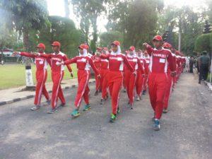 Kodim 0829 Bangkalan Gealar Kirab Juara 1 Paskibraka b