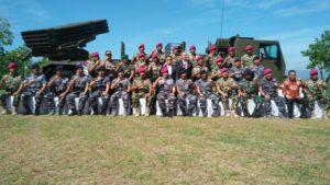 Komandan Lantamal V Hadiri Penyerahan Kendaraan Tempur Marinir MLRS Di Karang Tekok 2