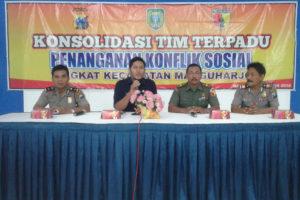 Konsolidasi Tim Terpadu Penanganan Konflik Sosial di  Wilayah Kecamatan Manguharjo Kota Madiun 1 - Copy