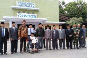 Kunjungan Kerja Dan  Silaturahmi  Menpora RI Di Pondok  Modern Darussalam Gontor Ponorogo 1