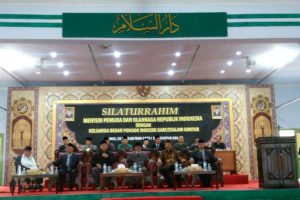 Kunjungan Kerja Dan  Silaturahmi  Menpora RI Di Pondok  Modern Darussalam Gontor Ponorogo 2