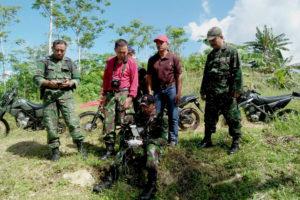 Kunjungan Kerja Katopdam V Brawijaya Di Kaligentong  Tulungagung 1