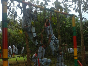LDK Smp Diponegoro Tumpang Di Asrama Brigif Para Raider 18    4-8-16 (3)