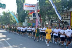 Lari Aerobic hari Selasa