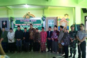 Menteri Pemuda Dan Olah Raga RI  Silaturahmi  di Pondok  Pesantren Darul Huda Mayak Ponorogo. 2