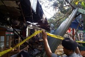 Pasar Wage Jl. A Yani Nganjuk Tadi Pagi Terbakar 3  (2)