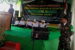 Peletakan Batu Pertama Pembangunan Masjid Dan Gedung NU  Ngawi 3