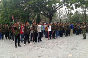 Pembukaan Diklat Kepemimpinan Dasar Gerakan Pemuda Ansor  Di Karanganyar Ngawi 2