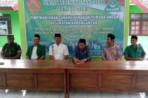 Pembukaan Diklat Kepemimpinan Dasar Gerakan Pemuda Ansor  Di Karanganyar Ngawi 3