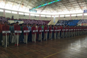 Pembukaan Turnamen Bolla Vooly SMASA Bupati Cup ke X,  Futsal SMASA Bupati Cup IV Dan SMASA Dance Competition ke IV  Di Magetan 4