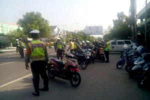 Petugas Gabungan Subdenpom V-2 Ngawi, Satlantas Polres  Ngawi dan DishubDLLAJ  Kabupaten Ngawi Gelar Gaktib. 1