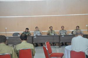 Rapat Kordinasi Pendapatan dan Anggaran Daerah Kabupaten  Blitar oleh Forpinda Kabupaten Blitar (1)