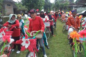 Sepeda Hias HUT Ke 71 RI di Madigondo (3)