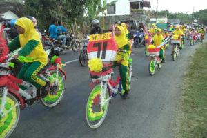 Sepeda Hias HUT Ke 71 RI di Madigondo (8)