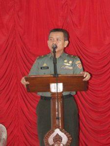 TIM SERGAB MABESAD KUNJUNGI KODIM 0702PURBALINGGA 5