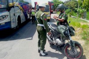 TNI-Polri Dan Dishub Kabupaten Ngawi Gelar Gaktib  Gabungan. 3