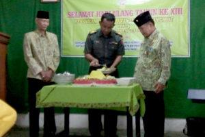 Tasyakuran  HUT PPAD.Persatuan Purnawirawan TNI Angkatan  Darat Cabang Trenggalek ke XIII Th. 2016 b