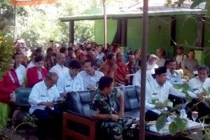 Temu Wicara Kelompok TaniKTNA Tingkat Kabupaten Nganjuk  dan  Pembukaan Pameran Produk Unggulan Pertanian 2