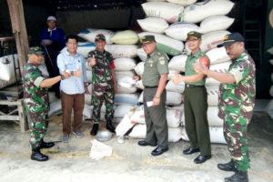 Tim Sergap Mabesad Periksa Gudang Bulog, Penggilingan  Padi Dan Kwalitas Gabah Di Wilayah Madiun 4