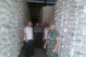 Tim Sergap Mabesad Survei Kondisi Dan Stok Beras  Di  Kabupaten Nganjuk. 1