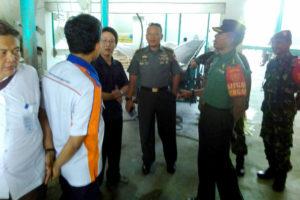 Tim Sergap Mabesad Survei Kondisi Dan Stok Beras  Di  Kabupaten Nganjuk. 2