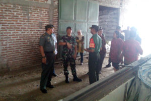 Tim Sergap Mabesad Tinjau Stok Beras Dan Penggilingan Padi  Di Kecamatan  Bagor  Nganjuk 3