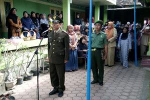 Upacara Pemakaman Secara Militer Mantan anggota Kodim 0806 Trenggalek 3