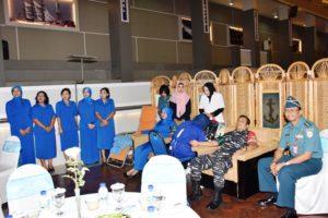 05 PERINGATI HARI TNI AL, KOARMATIM GELAR DONOR DARAH  (1)