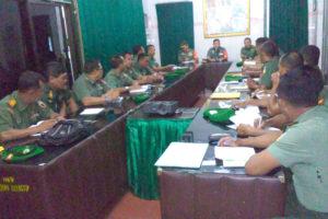 PENGARAHAN BRIGJEN TNI AGUS HERU PRASETYO DI KODIM  0807TULUNGAGUNG (1)
