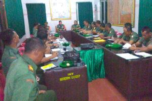 PENGARAHAN BRIGJEN TNI AGUS HERU PRASETYO DI KODIM  0807TULUNGAGUNG (4)