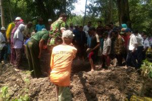 Pemakaman PNS Suyanto (4)