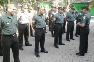 Pengecekan Pasukan Pam Kunker Pangdam (3)