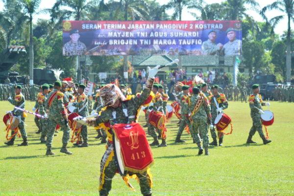 Brigjen TNI Marga Taufik Resmi Jabat Pangdivif 2 Kostrad
