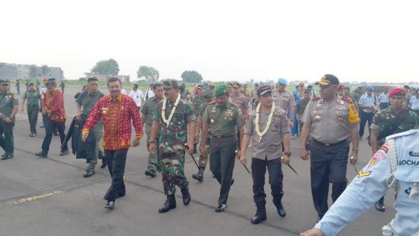 Panglima TNI Tiba di Medan