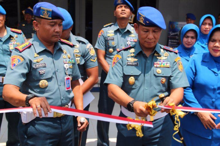 Danpuspom TNI AL Resmikan Patung Bimasena