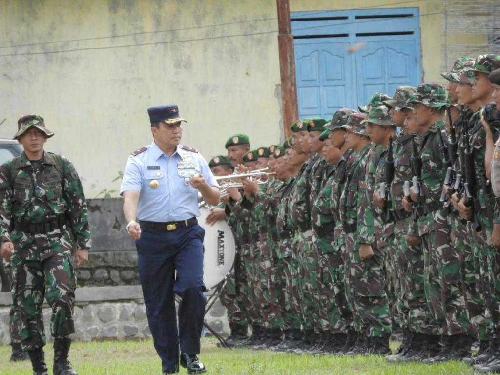 Yonarmed 12 Ikut Serta Dalam Upacara Penutupan TMMD Ke- 103 Di Wilayah Kabupaten Pacitan