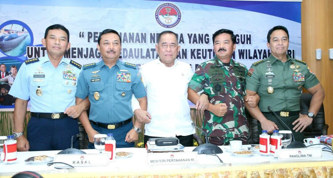 Panglima TNI :  Program Kerja Mabes TNI Prioritaskan Modernisasi Alutsista dan Kekuatan Integratif