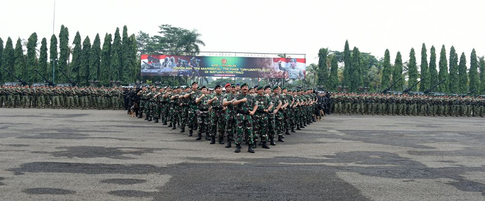 "Panglima TNI : ""Prajurit Kostrad Laksana Senjata Cakra Yang Tiada Tanding"" Cakra…!!!"
