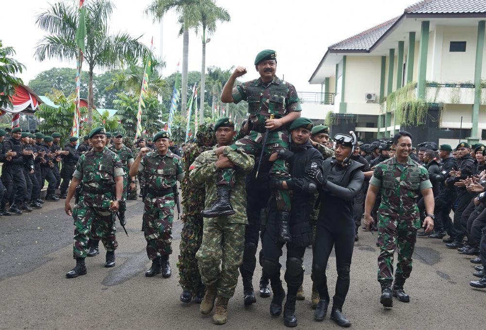 Panglima TNI :  Prajurit Kostrad Salah Satu Ujung Tombak Keutuhan NKRI