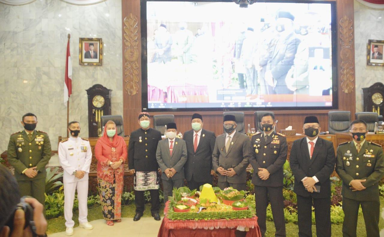 Danlanal Semarang Hadiri Rapat Paripurna DPRD Kota Semarang